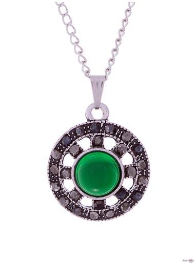 Asortishey Kolye Yeşil